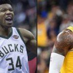 จานนิส, เลอ บรอน เจ๋ง ติดทีมยอดเยี่ยม NBA 2019-20 ทีมแรก