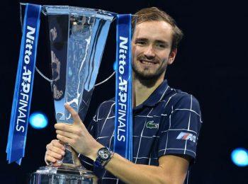 ดานิล เมดเวเดฟ ฟาดเอาชนะ โดมินิค ธีม คว้าแชมป์ ATP ครั้งแรก