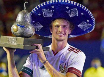 ซเวเรฟ ตั้งเป้าสานต่อความสำเร็จ หลังคว้าแชมป์ Acapulco Triumph