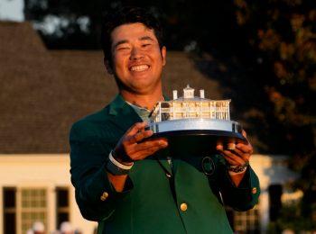 โยชิฮิเดะ ซูงะ นายกญี่ปุ่น ร่วมยินดีกับ ฮิเดกิ แชมป์มาสเตอร์ส