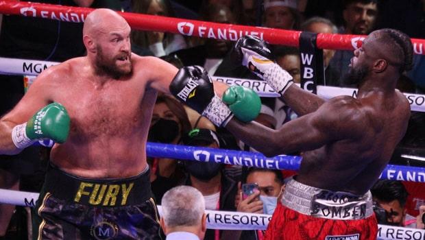 Tyson Fury v Deontay Wilder Boxing